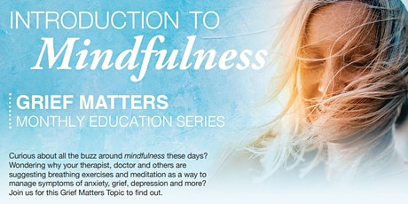 Introduction to Mindfulness tickets