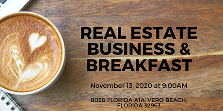 November Real Estate Business & Breakfast tickets