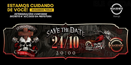 MOTO CULTO (24/10) 20h00 ingressos