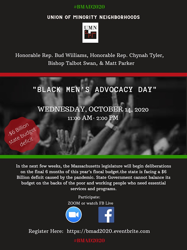 2nd Annual B.M.A.D.- Black Men's Advocacy Day 2020 image