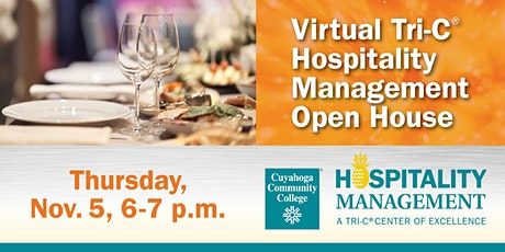 Hospitality Management Virtual Open House tickets
