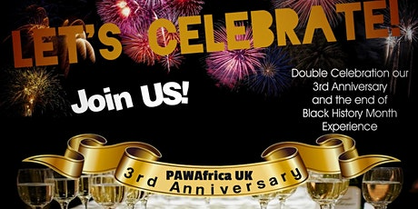 PAW Africa UK 3rd Anniversary: Celebrating  into this Decade and Beyond tickets