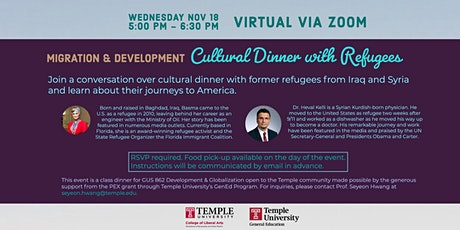 Migration & Development: A Cultural Dinner with Refugees tickets