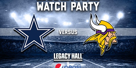 Cowboys vs. Vikings Watch Party tickets