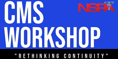 CMS Workshop Series Part 5: After Action Review Workshop tickets