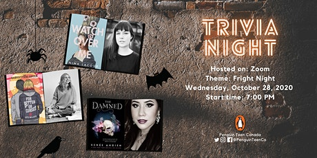 Penguin Teen Canada Zoom Trivia October: Fright Night Edition tickets