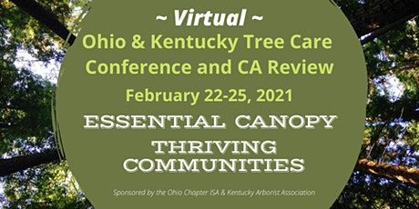 Kentucky & Ohio Tree Care Conference and CA Review tickets