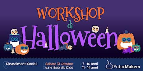 Workshop  di Halloween  (7-14 anni) biglietti