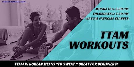 Ttam Virtual Workout Class tickets
