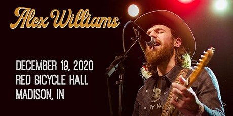 Alex Williams w/ Clarke Sexton & Ben Jarrell tickets