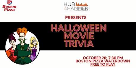 Halloween Movie Trivia at Boston Pizza Waterdown tickets