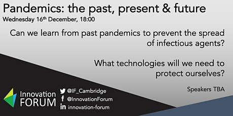 Pandemics: the past, present and future tickets