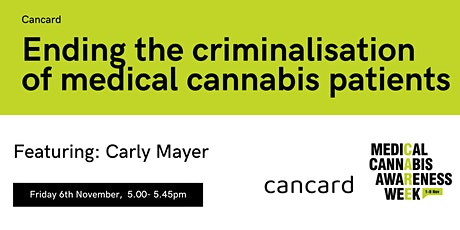 #MCAW2020: Ending the criminalisation of medical cannabis patients tickets
