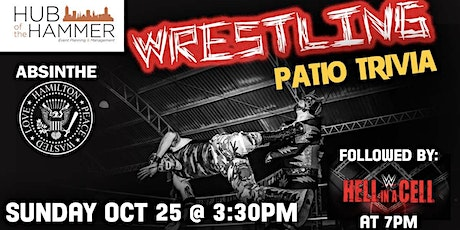 Wrestling Patio Trivia at Absinthe tickets