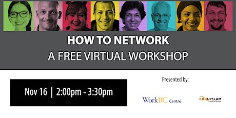 How to Network: A Free Career Workshop tickets