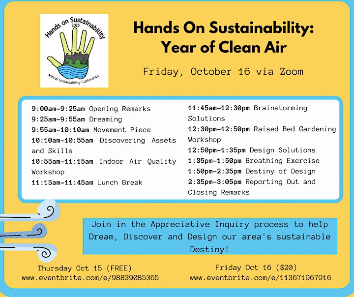 Hands On Sustainability: Year of Air (Friday) image