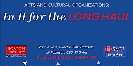 Boston University - In It for the Long-Haul Webinar w/ SMU DataArts tickets