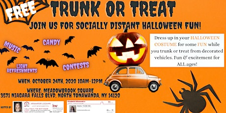 Free Trunk or Treat! (socially distanced!) tickets