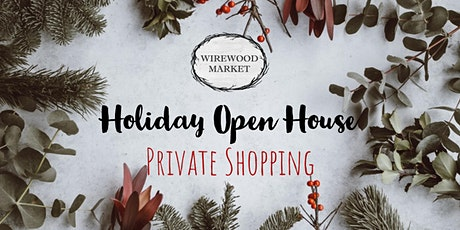 Holiday Open House Private Shopping tickets