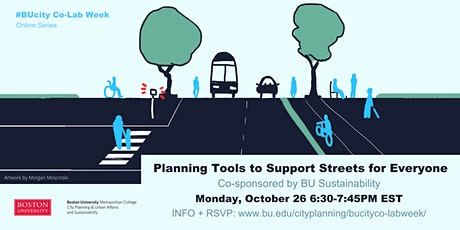 Planning Tools to Support Streets for Everyone tickets