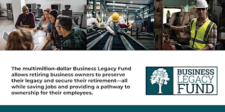 Business Legacy Fund info session tickets