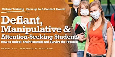Defiant Students Virtual Seminar - November 12, 2020 tickets