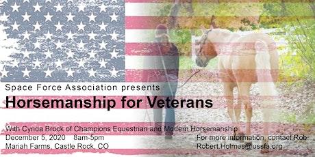 Space Force Association - Horsemanship for Veterans tickets