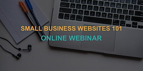 Small Business Websites 101: Online Webinar tickets