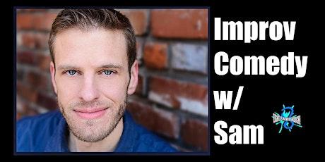 Advanced Improv Comedy with Samuel Van Wyk tickets