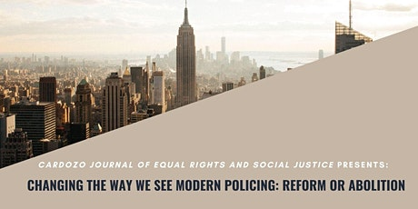 Changing the Way We See Modern Policing: Reform or Abolition? tickets