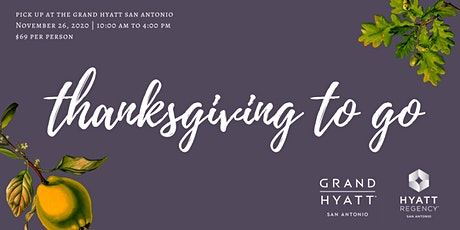 Thanksgiving To Go tickets