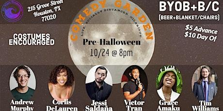 Comedy Garden Pre-Halloween tickets