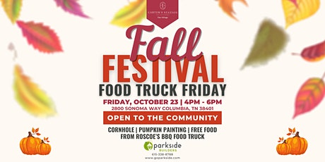 Fall Festival Food Truck Friday tickets