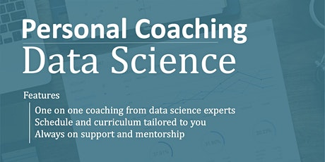 Personal Coaching for Data Sciences tickets