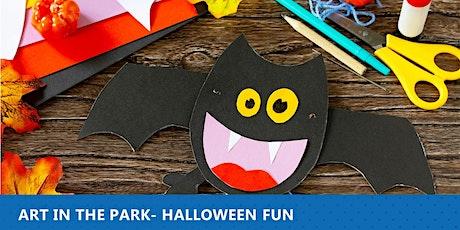 Art in the Park- Halloween Fun tickets
