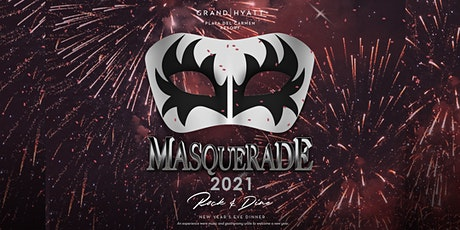 GRAND HYATT PLAYA DEL CARMEN ROCK & DINE NYE MASQUERADE 2021 boletos