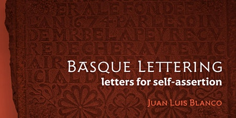 Basque Lettering: Letters for Self-Assertion tickets