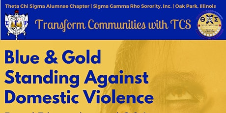 Blue & Gold Standing Against Domestic Violence Donation Packages tickets