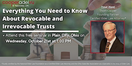 Estate Planning With Revocable and Irrevocable Trusts tickets