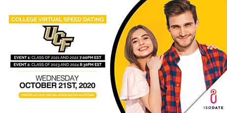 Isodate's UCF College Virtual Speed Dating tickets