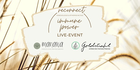 reconnect LIVE: immune power Tickets