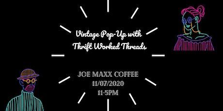 Vintage Pop-up at Joe Maxx Coffee tickets