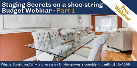 Staging Secrets on a Shoe-String Budget - Part 1 tickets