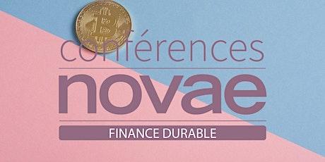 Finance - Les leviers de l'innovation à impact  - Conférence Novae billets
