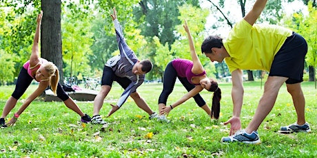 Free Group Fitness Class in the Park with TDAE tickets