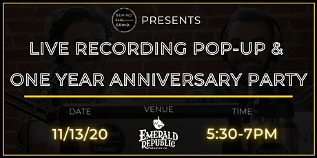 BTG LIVE RECORDING POP-UP & 1 YEAR ANNIVERSARY PARTY tickets