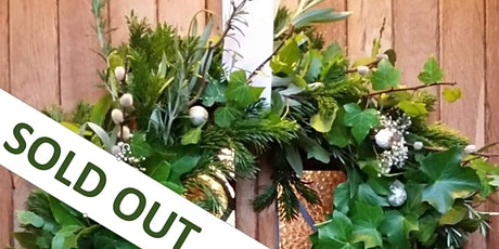Gardening Lady CHRISTMAS Wreath Making Workshop 5 tickets