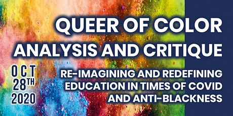 Re-imagining and Redefining Education in Times of COVID and Anti-Blackness tickets