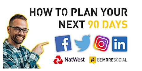 How to plan your next  90 days on social tickets