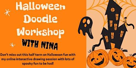 Halloween Doodle Workshop with Nina Gore tickets